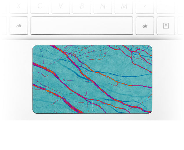 Deep Water Laptop Trackpad Sticker