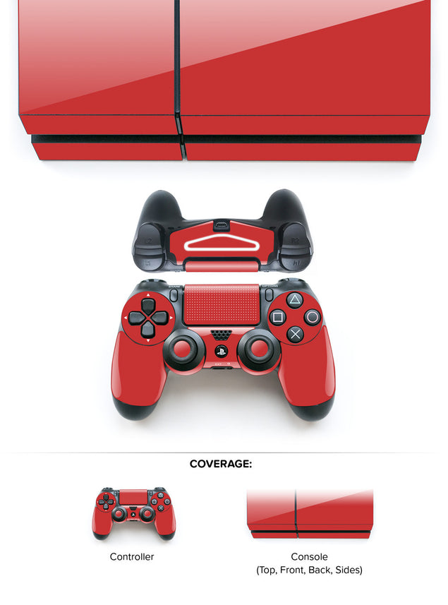 Devil Red PS4 Skin at Keyshorts.com