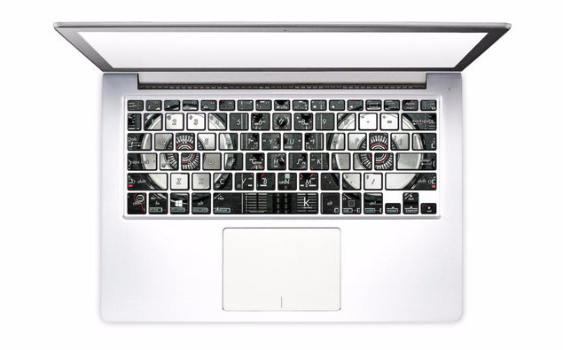 DJ Controller Laptop Keyboard Decal