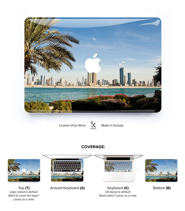 Dubai MacBook Skin at Keyshorts.com