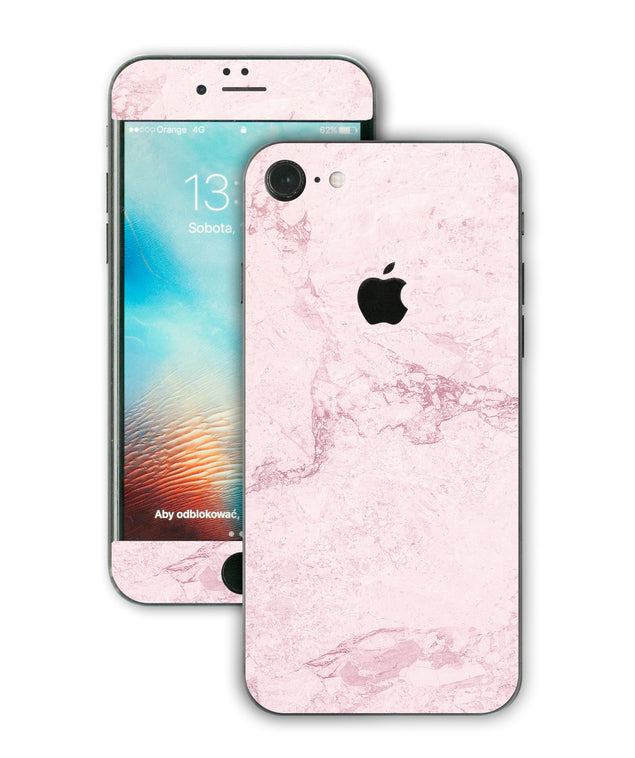 Dusty Pink Stone iPhone Skin