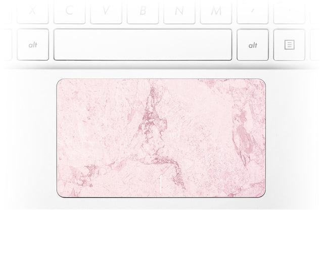 Dusty Pink Stone Laptop Trackpad Sticker