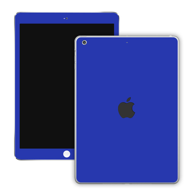 Electric Blue iPad Skin