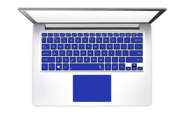 Electric Blue Laptop Keyboard Stickers