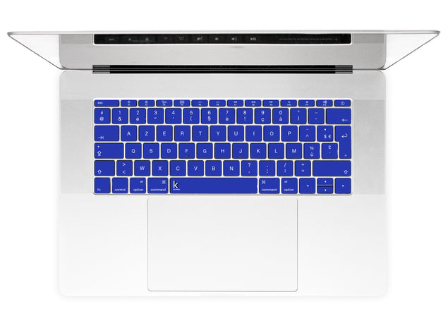 Electric Blue MacBook Keyboard Stickers alternate