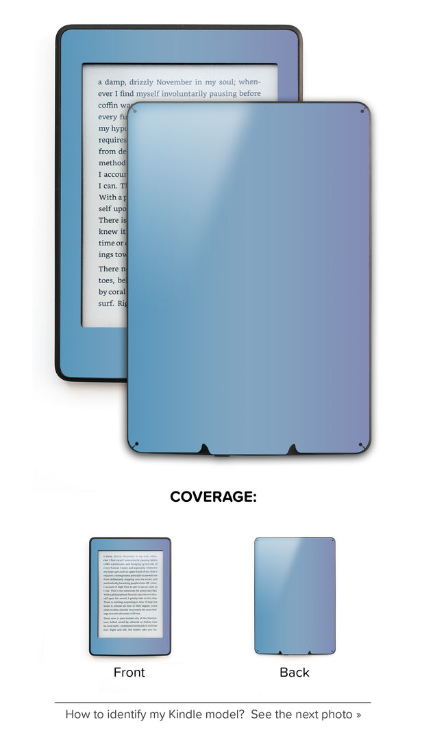 Fairy Tale Sky Ombre Kindle Skin