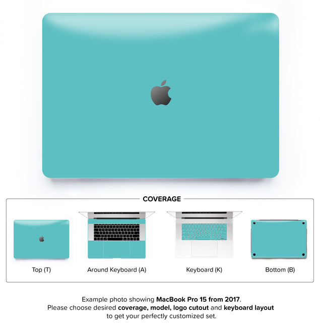 Fresh Mint MacBook Skin