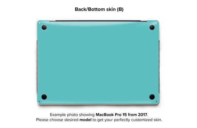 Fresh Mint MacBook Skin - back skin