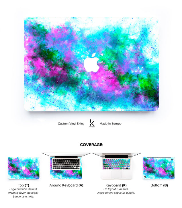Frozen MacBook Skin at Keyshorts.com