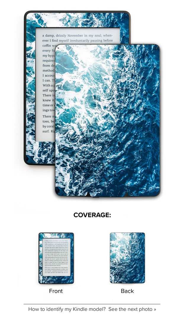 Gozo Wave Kindle Skin