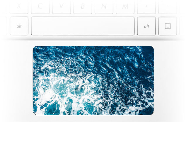 Gozo Wave Laptop Trackpad Sticker