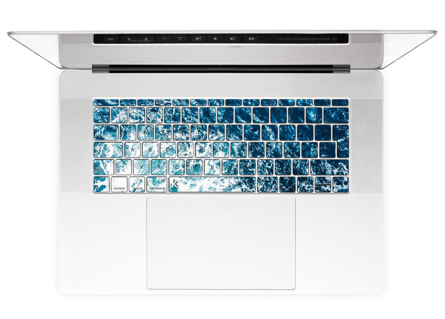 Gozo Wave MacBook Keyboard Stickers alternate