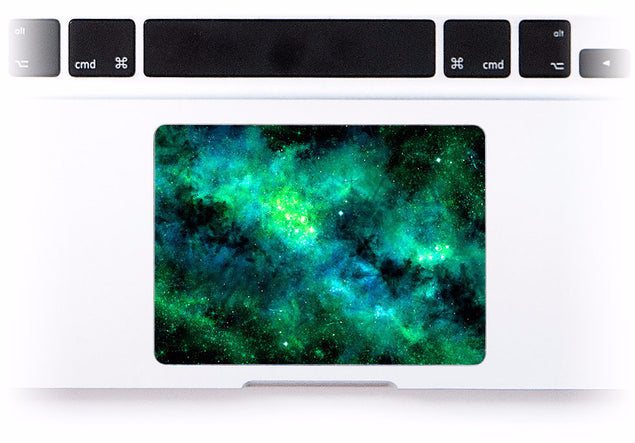 Greendust MacBook Trackpad Sticker at Keyshorts.com - 1