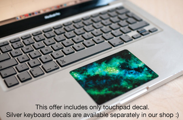 Greendust MacBook Trackpad Sticker at Keyshorts.com - 2