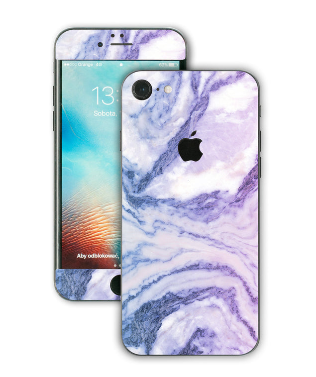 Happy Pastel Marble iPhone Skin