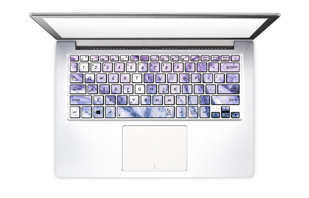 Happy Pastel Marble Laptop Keyboard Stickers
