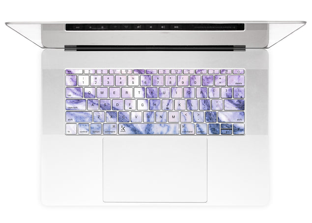 Happy Pastel Marble MacBook Keyboard Stickers alternate