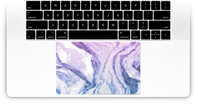Happy Pastel Marble MacBook Trackpad Sticker