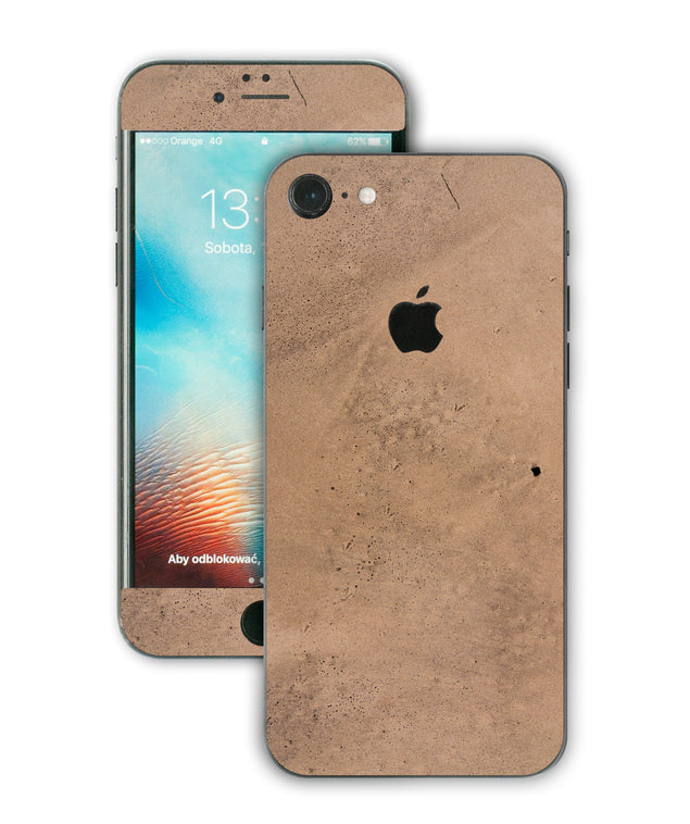 Happy sand iPhone Skin
