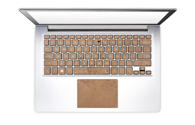 Happy sand Laptop Keyboard Stickers