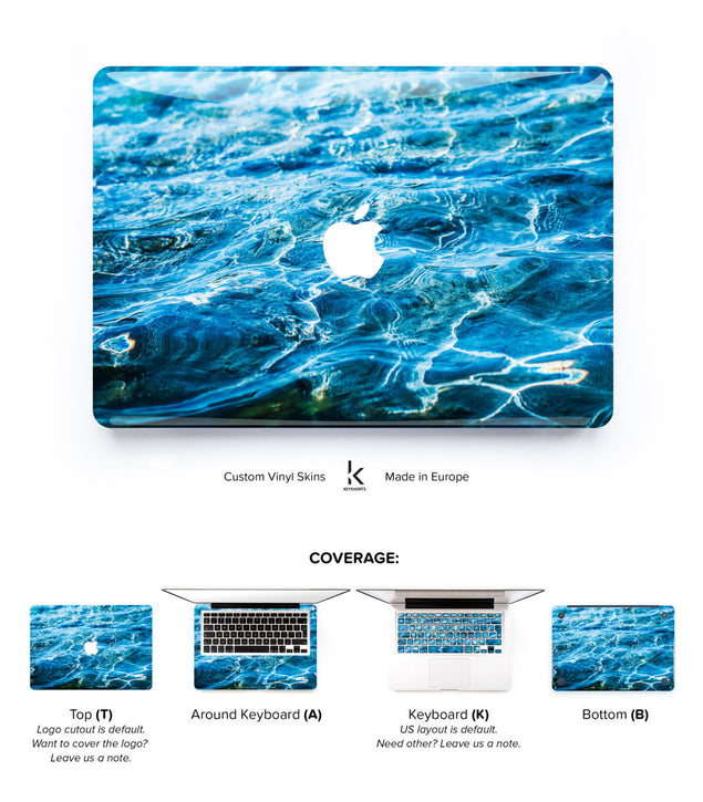 Hello From Crete MacBook Skin at Keyshorts.com