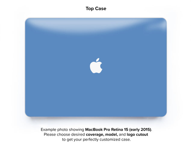 Heritage Blue Hard Case for MacBook Pro Retina 15 - top case