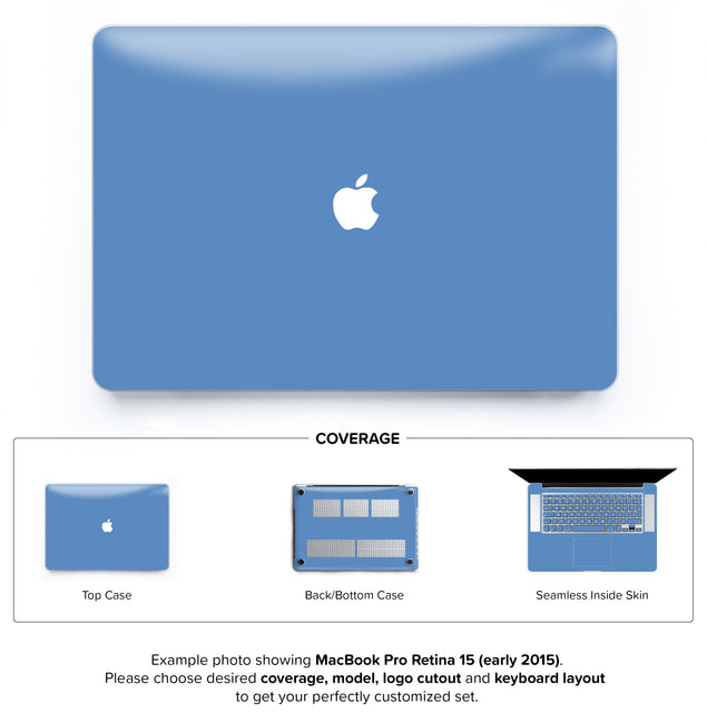 Heritage Blue Hard Case for MacBook Pro Retina 15