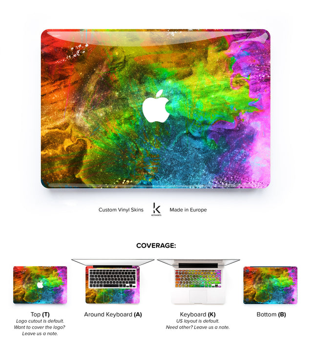 Holi MacBook Skin at Keyshorts.com - 1