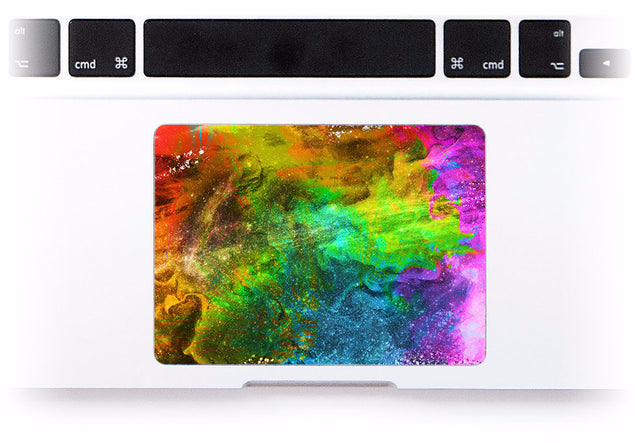 Holi MacBook Trackpad Sticker at Keyshorts.com