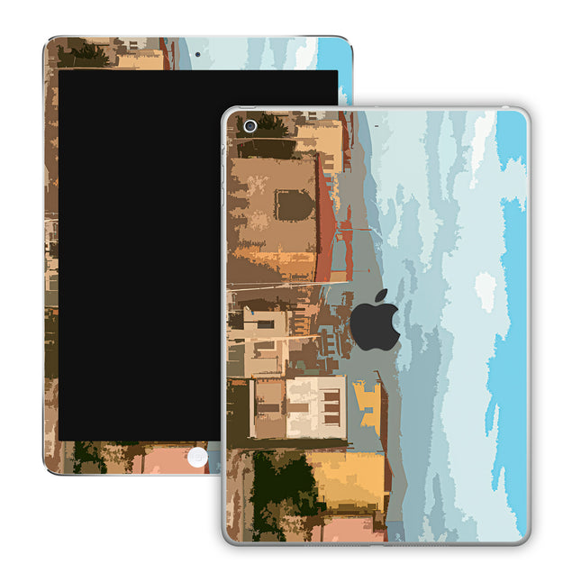 Holiday Postcard iPad Skin