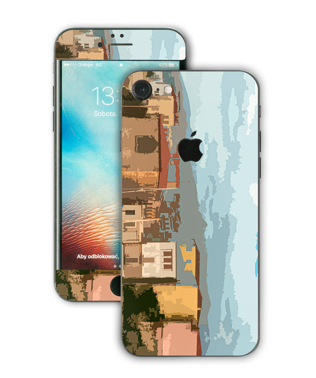 Holiday Postcard iPhone Skin
