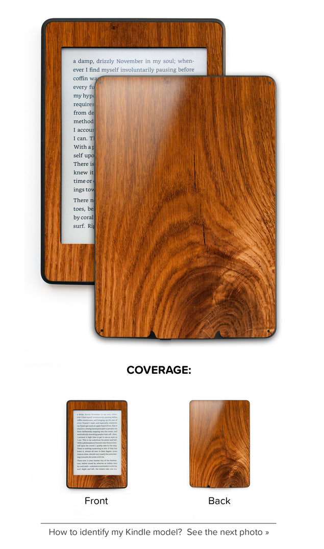 Honey Wood Kindle Skin