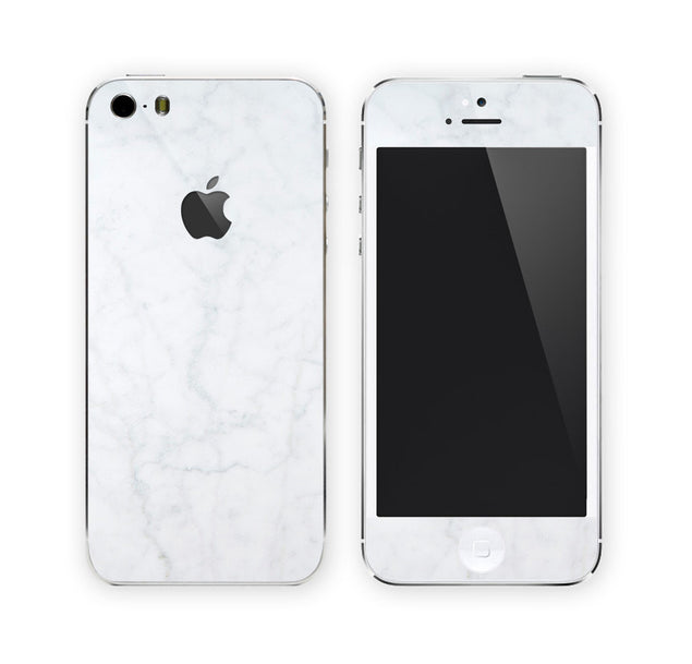 White Marble iPhone Skin at Keyshorts.com