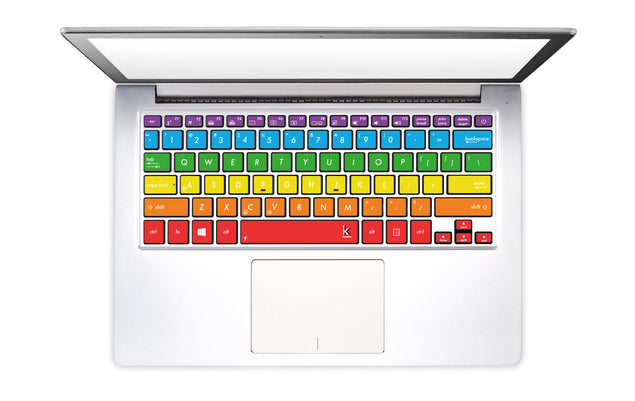 Jamaica Rainbow Laptop Keyboard Decal