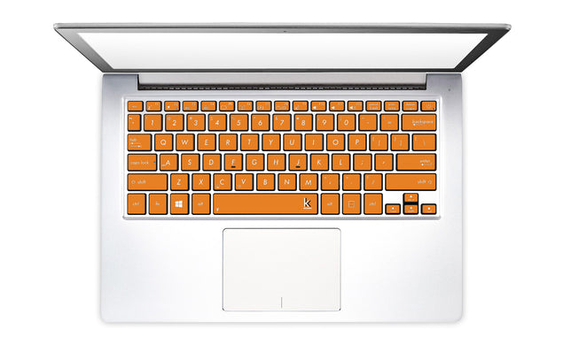 Juicy Orange Laptop Keyboard Stickers