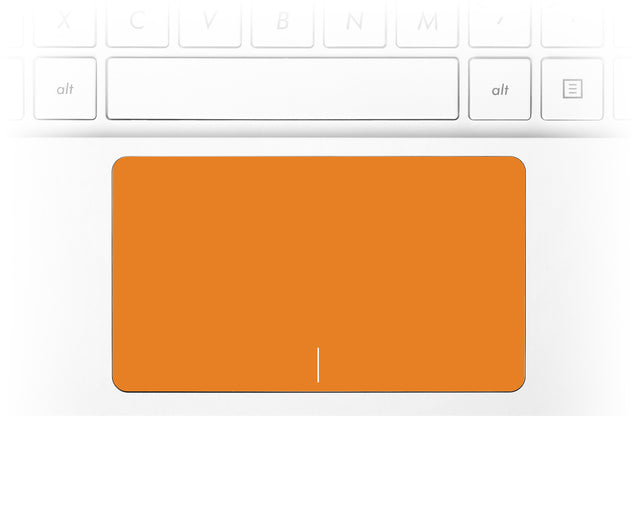 Juicy Orange Laptop Trackpad Sticker