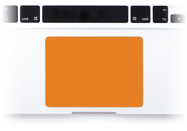 Juicy Orange MacBook Trackpad Sticker alternate