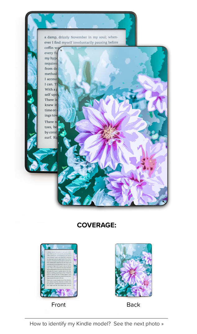 June Flowers Kindle Skin
