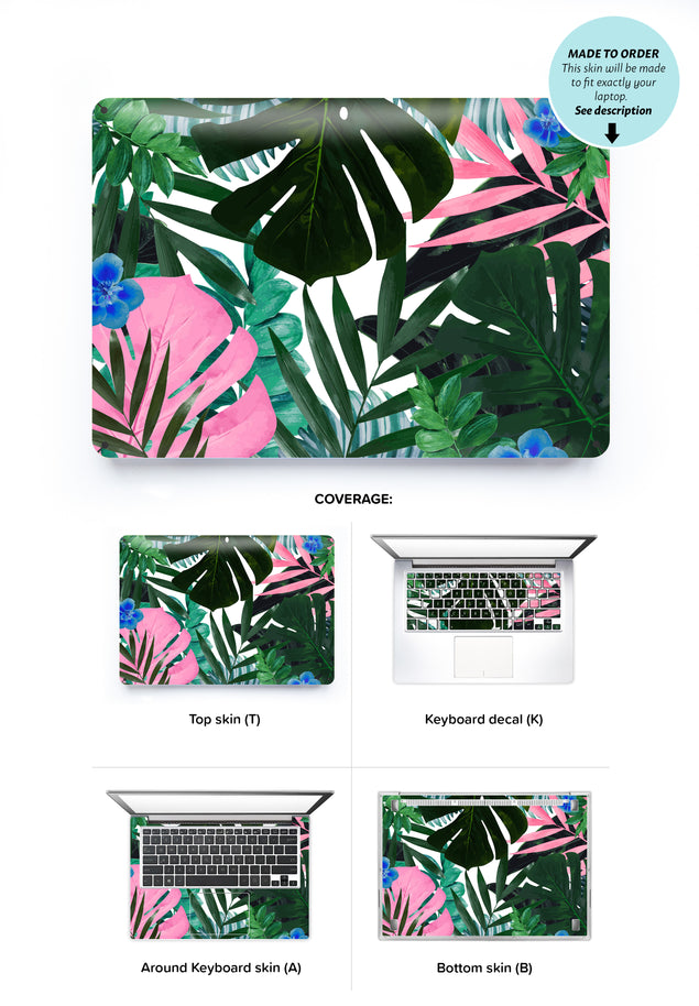 Jungle Times Laptop Skin