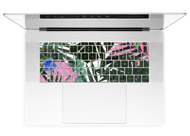 Jungle Times MacBook Keyboard Stickers alternate