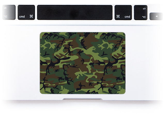 Jungle Camo MacBook Trackpad Sticker at Keyshorts.com