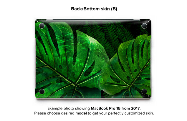 Jungle Tango MacBook Skin - back skin