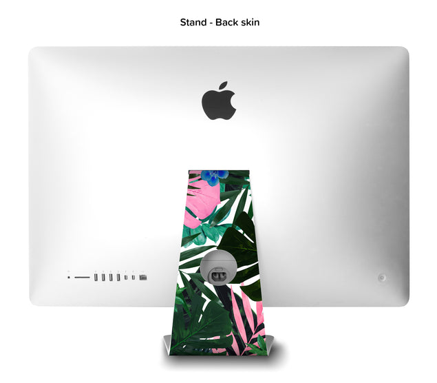 Jungle Times iMac Skin - back stand skin