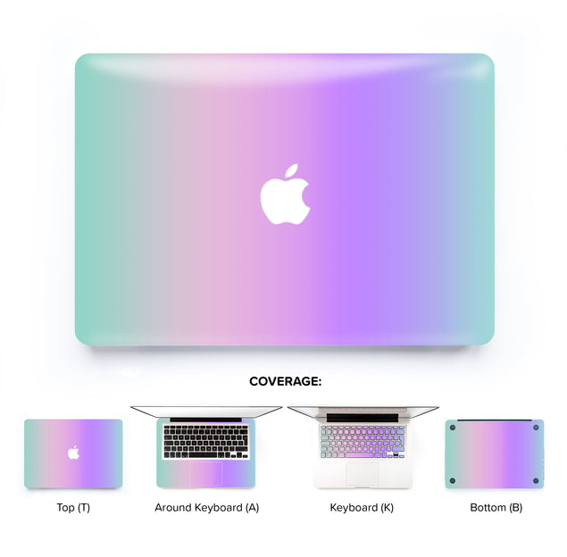 Kawaii Ombre MacBook Skin