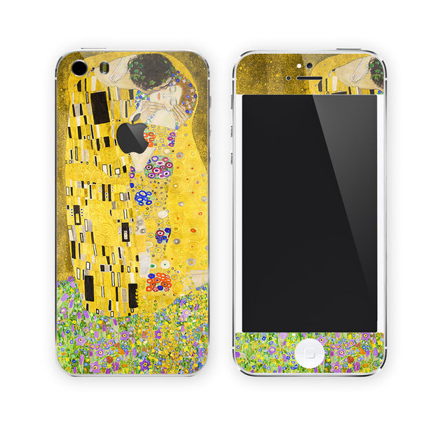 The Kiss by Klimt iPhone Skin at Keyshorts.com