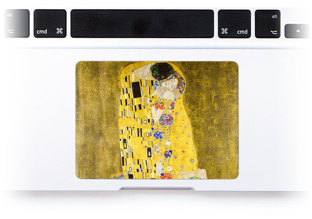 The Kiss MacBook Trackpad Sticker at Keyshorts.com