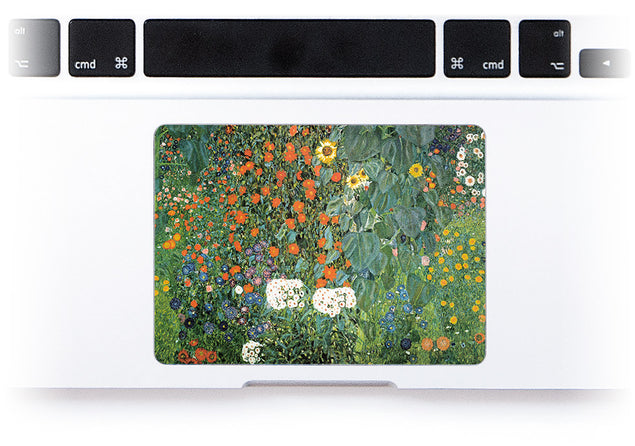 Klimt Garden MacBook Trackpad Sticker at Keyshorts.com