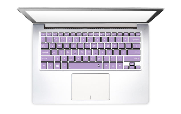 Light Purple Laptop Keyboard Decal