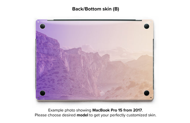 Lucky Rocks MacBook Skin - back skin