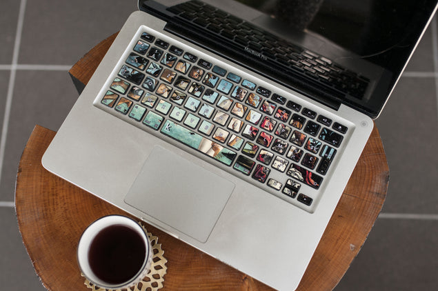 Birth of Venus MacBook Keyboard Stickers
